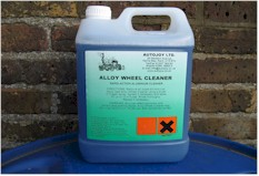Autojoy Budget Alloy Wheel Cleaner 4 x 5 Litre